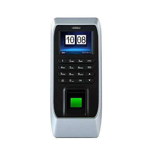 """Zeiterfassungsgerät Fingerabdruck-Maschine 2.4"""" Display Fingerabdruck Passwort ID-Kartenerkennung Zutrittskontrollsystem Zeiterfassung Maschine for Büro-Gemeinschaft Die Teilnahme Recorder-Maschinen"""