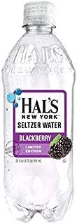 Hal's New York Seltzer Water Blackberry 20 Oz (24 Pack)