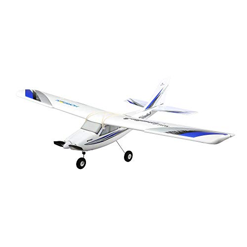 HobbyZone Mini Apprentice S RC Airplane RTF (Includes 204GHz DXe DSMX Transmitter and 4xAA Alkalines, Receiver, 3S 1300mAh LiPo Battery, and Charger): HBZ3100