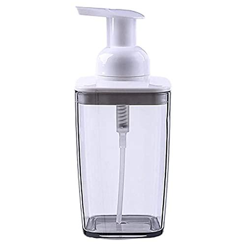 MUMUMI Dispensadores de Jabón, Dispensador de Jabón Espuma de Espuma de Mano Dispensador de Espuma de Plástico Dispensador de Jabón Plástico Y Recargable Y Ecológico,Gris