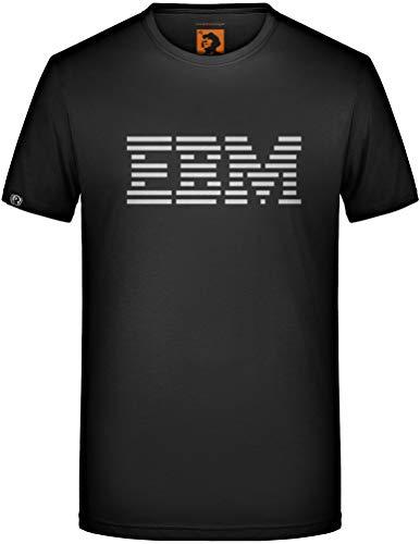 EBM T-Shirt Electronic Body Music Nitzer Ebb Front 242 Fan Club Industrial Funny Größe XL