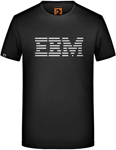 EBM T-Shirt Electronic Body Music Nitzer Ebb Front 242 Fan Club Industrial Funny Größe L