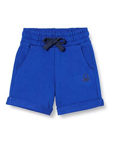 United Colors of Benetton Baby-Jungen Bermuda Shorts, Blau (Surf The Web 19r), 80/86 (Herstellergröße: 1y)