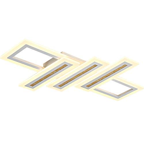 JiAWEI plafondlamp met traploze dimming, creatieve acrylverlichting aan het plafond – keuken in de woonkamer van de hal