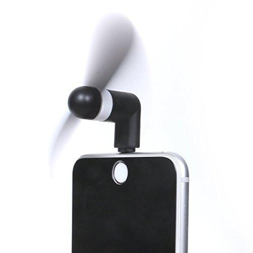 4 Pack USB Phone Fans,Mini Portable Fans for iPhone 6 iPhone 7 iPhone 8 iPhone X XS XR(for iPhone)