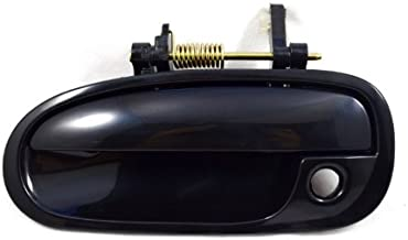 PT Auto Warehouse HO-3239S-FL - Outside Exterior Outer Door Handle, Smooth Black - Driver Side Front