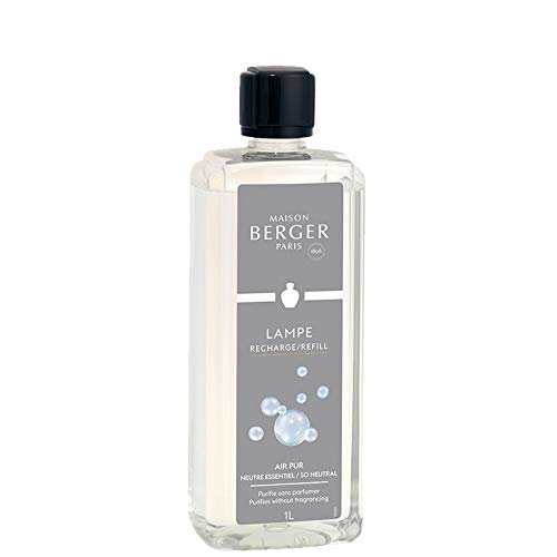 Lámpara Berger So Neutral Home Fragrance, plástico, gris, 25 x 14,5 x 21