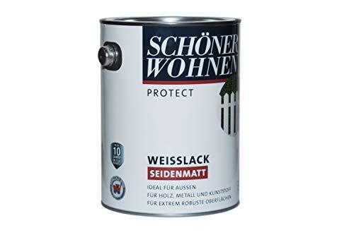 Schöner Wohnen Profidur Weißlack seidenmatt 2,5L