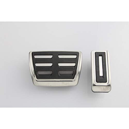 Pedal Kit Für für vw Multivan T5 / T6, für Caravelle T6 Edelstahl Zubehör Gasbremspedale, Kupplung, Pedalsatz, Ruhepedal, Getriebe, Pedalauflagen