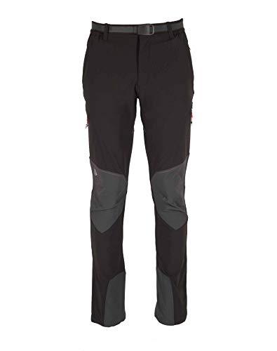 Ternua Pantalon Withorn Pant Hombre, Black/Whales Grey, S