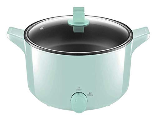 X-LSWAB Startseite Slow Cooker 5L große Kapazitäts-Reiskocher Elektrische Suppentopf Antihaft-Pfanne leicht zu reinigen Geeignet for Dampfkoch Stew wohlschmeckend Familie Küche (Color : A)