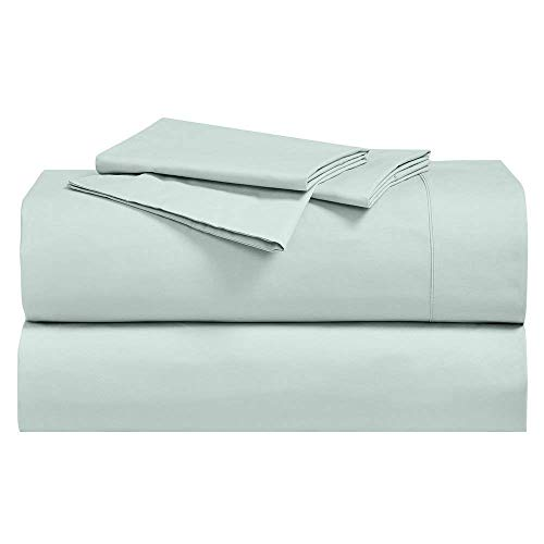 Royal Hotel Abripedic Crispy Percale Sheets, 300-Thread-Count, 4PC Solid Sheet...