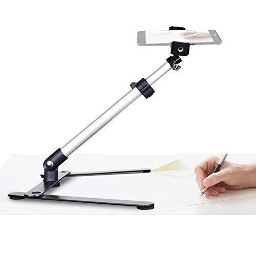 Kalligraphie-Videoständer, Tisch-Handy-Halterung für Backen, Basteln, Demo, Zeichnen, Skizzieren, Aufzeichnung/Live-Streaming