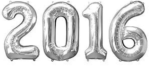 promociones de equipo 2016 2016 2016 plata Big Foil Balloon 34 Inch by Anagram by Anagram  tienda de venta