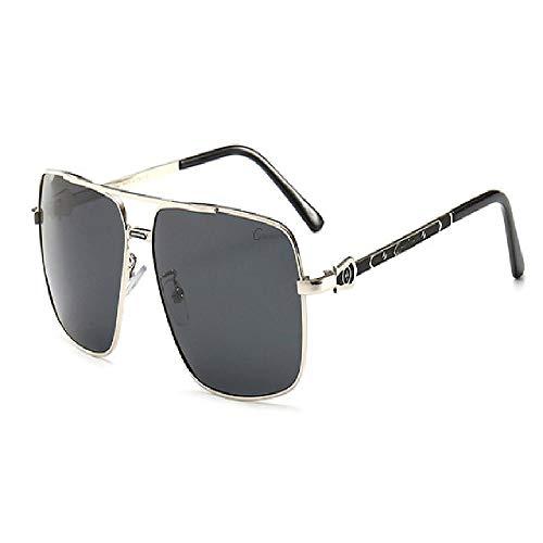 U/A 2Pcs Gafas De Sol Piloto Para Hombre, Gafas Polarizadas Para Conducir, Gafas Cuadradas Para Mujer, Marco De Acero Inoxidable Para Pesca Policial