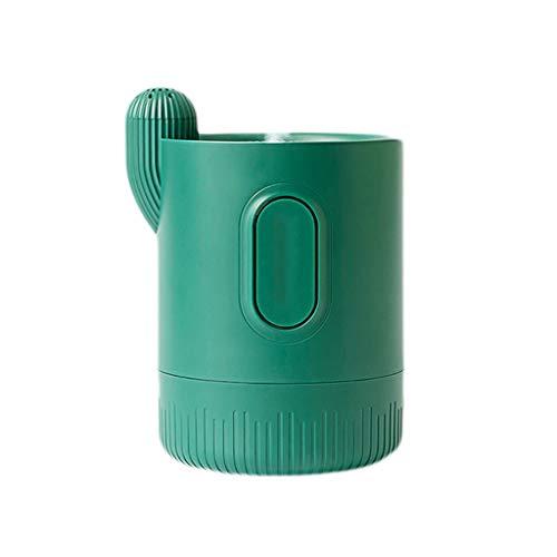 GDSSX Difusores for Essential Oils Mini USB humidificador Silencio Dormitorio aromaterapia Escritorio portátil Spray purificador de Aire Lámparas Aromáticas (Color : White, Size : 1000mAh)