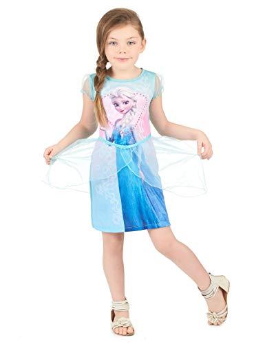 COOKIE Robe Elsa La Reine des Neiges Fille - 3 à 4 Ans