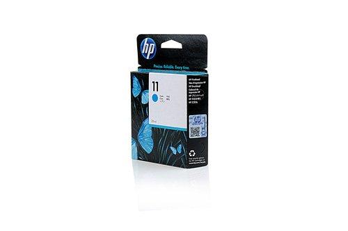 Original Tinte passend für HP Business Inkjet 2250 Series HP 11C, 11CYAN, C4836A, NO11, NO11C, NO11CYAN, Nr 11 C4836A C4836AE - Premium Drucker-Patrone - Cyan - 2350 Seiten - 28 ml