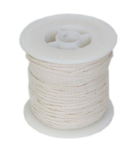 #24PLY/FT Braided Wick: 100 foot Spool