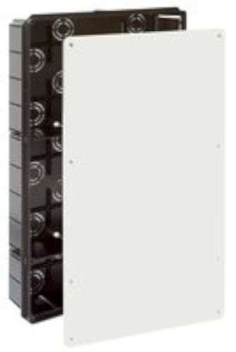 Solera 5503 - Caja empalme y derivación.Instalación empotrada. De 300x500x85. 50 entradas para tubo Ø 40. Tapa tornillos