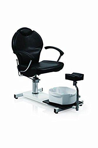Funnylife Pedicure Station Black Hydraulic Spa Chair &Foot Classic Salon Massage Equipment
