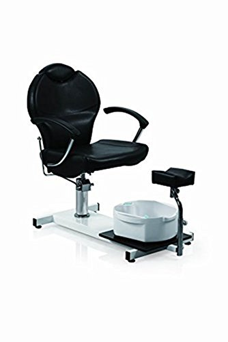 Funnylife Pedicure Station Black Hydraulic Spa Chair &Foot Classic Salon Massage Equipment