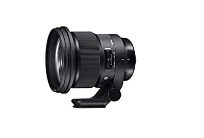Sigma 259965 105mm f/1.4-16 Standard Fixed Prime Camera Lens, Black for Sony E Mount by SIGMA