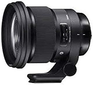 SIGMA 105mm F1.4 DG HSM | Art A018 SONY Eマウントフルサイズ対応 ミラーレス専用