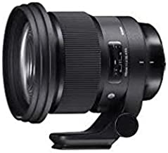 Sigma 259965 105mm f/1.4-16 Standard Fixed Prime Camera Lens, Black for Sony E Mount