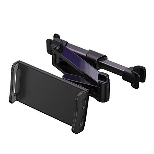 JAWSEU Soporte Tablet Coche,Soporte Tablet Coche Universal Tablet Asiento Trasero para automóvil Reposacabezas Soporte de Montaje Extensible para Todos 4.6in - 12.9in Compatible