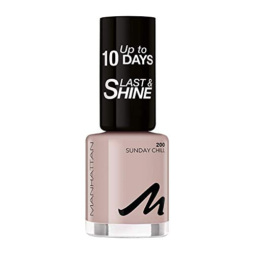 Manhattan Last und Shine Nagellack, Nr.200 Sunday Chill, 1er Pack (1 X 10 ml)