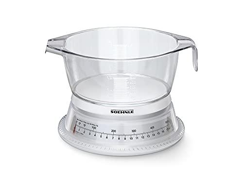 Soehnle Vario 65418 Balance de cuisine Blanc/transparent