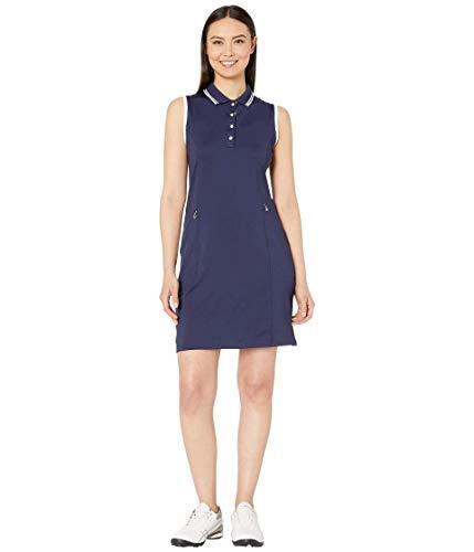 Callaway Women's Standard Solid Golf Dress, Peacoat, Medium