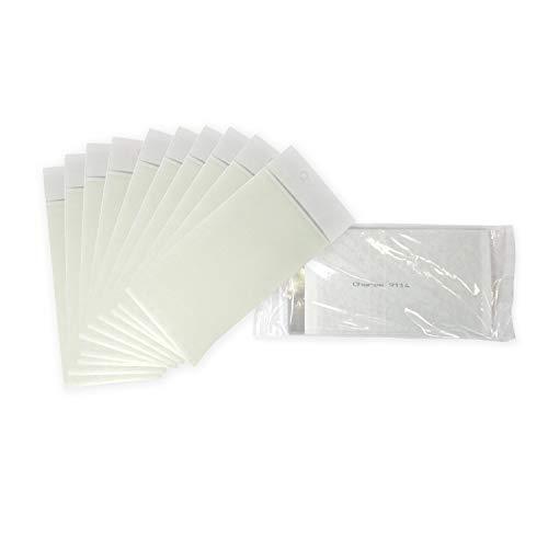 Biogents 10 Tarjetas Adhesivas en un Juego, Paquete de Recambio de lámina Adhesiva para la Trampa BG-GAT contra el Mosquito Tigre