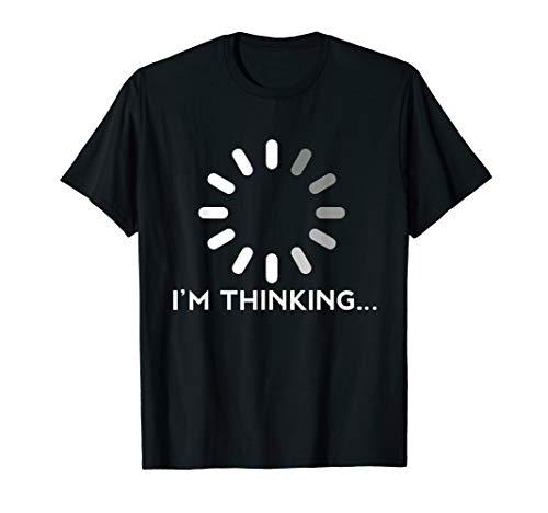Gaming Computer Tshirt Herren Damen Kinder Nerd Geek Denken T-Shirt