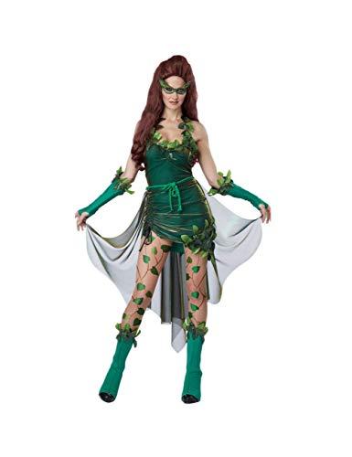 GBYAY Disfraz de Hiedra venenosa de Belleza letal para Mujer Disfraz de Cosplay