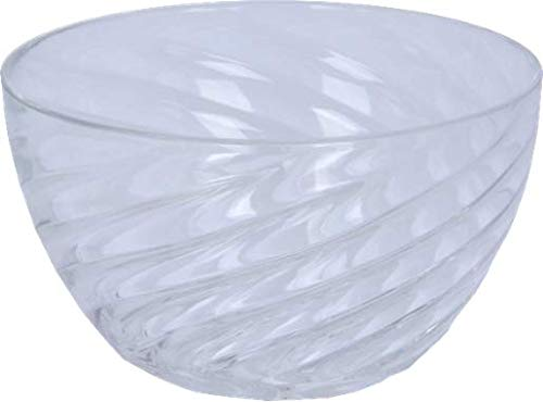 Ensaladera Acrílico, Transparente, 24 cm