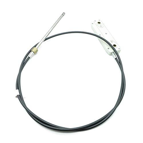 Ultraflex Lenkgetriebe TM48 Lenkkabel 10\' Boot Steuerung Steuerkopf Lenkung 55PS