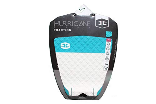 HURRICANE Surfboard Traction Pad/Grip T.K. (Teal/White)