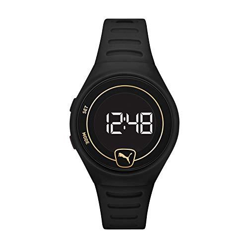 PUMA Reloj digital unisex con correa de poliuretano P5049.