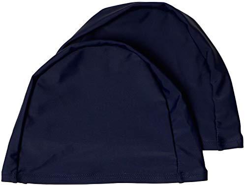 easyglide Cuffie 2 Pack Deluxe Spandex per Costume da Bagno in Tessuto Lycra per Adulto (Marina Militare, Adulto)