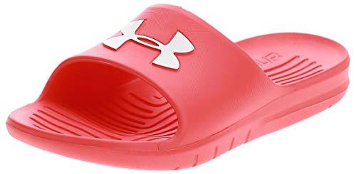 Under Armour UA Core PTH SL, Zapatos de Playa y Piscina Unisex Adulto, Rojo (Beta/Beta/White), 41 EU