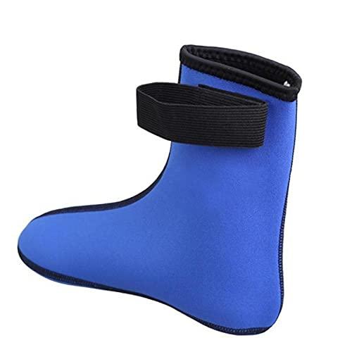 Calcetines de buceo, 3 mm de neopreno para traje de neopreno, mantiene el calor, antideslizantes y arañazos, calcetines de buceo flexibles, unisex para hombres, mujeres, jóvenes