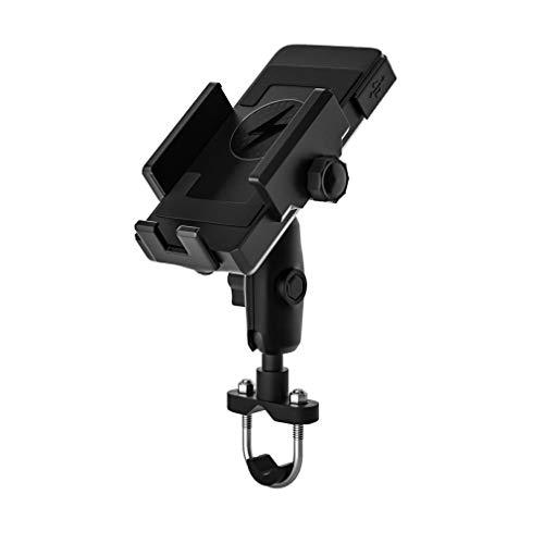 HehiFRlark - Soporte de teléfono móvil para vehículo eléctrico de carga rápida inalámbrica para moto