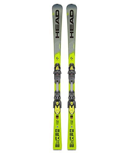 HEAD Herren Skier Supershape i.Speed inkl. Bindung PRD 12 GW grau/gelb (720) 163