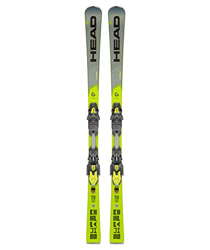 HEAD Herren Skier Supershape i.Speed inkl. Bindung PRD 12 GW grau/gelb (720) 170