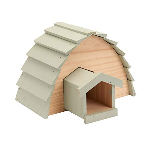 Pet Ting Hedgehog House Hibernation Safe Shelter Wildlife Cosy Sanctuary