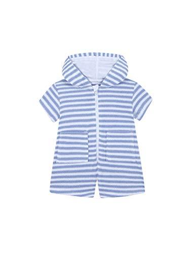 Gocco Mono Toalla Rayas, Azul (Azul AC), 86 (Tamaño del Fabricante:12/18) para Bebés
