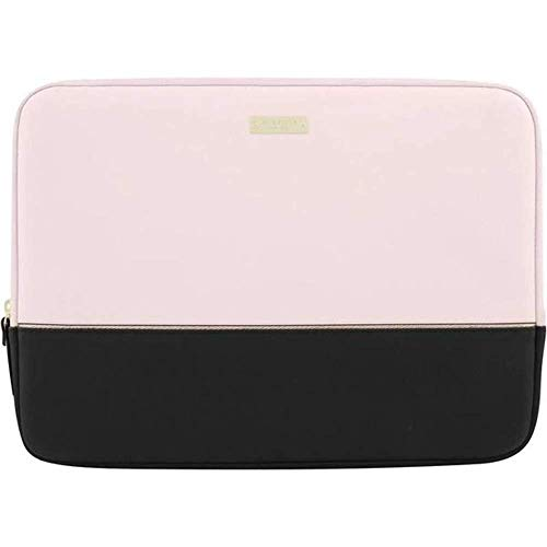 kate spade new york Color-Block Sleeve with Metallic Detailing for 13' MacBook - Black/Rose Quartz/Rose Gold
