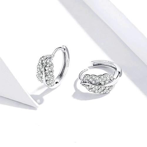 Haijun, orecchini a perno in argento Sterling 925, con ciondolo, alla moda, gioielli per donne e fidanzate, idea regalo
